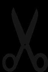 black scissor-sm